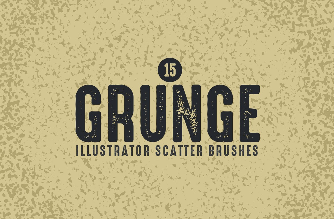 Grunge Scatter Brushes