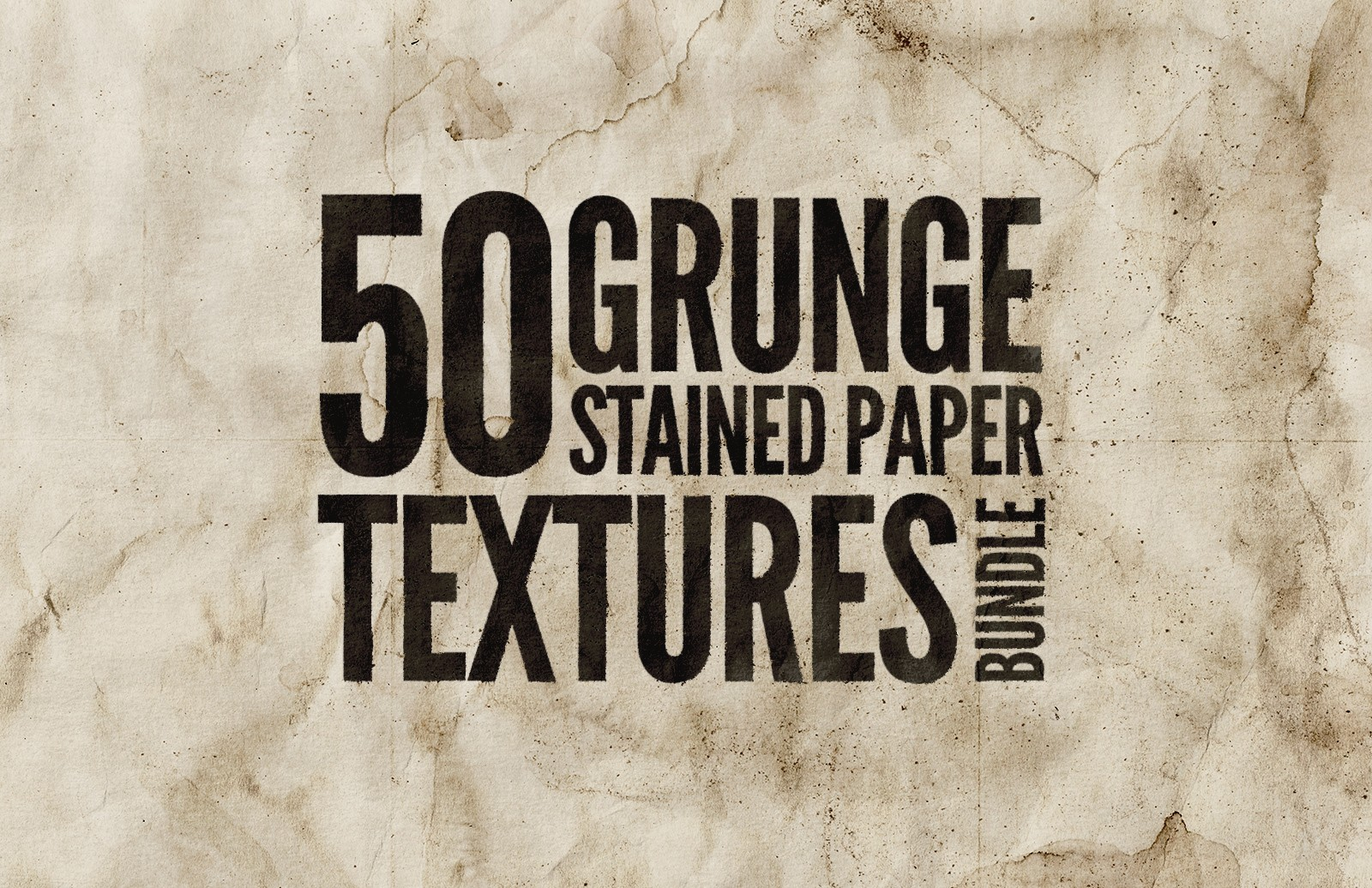 Grunge Stained Paper Textures Bundle Preview 1