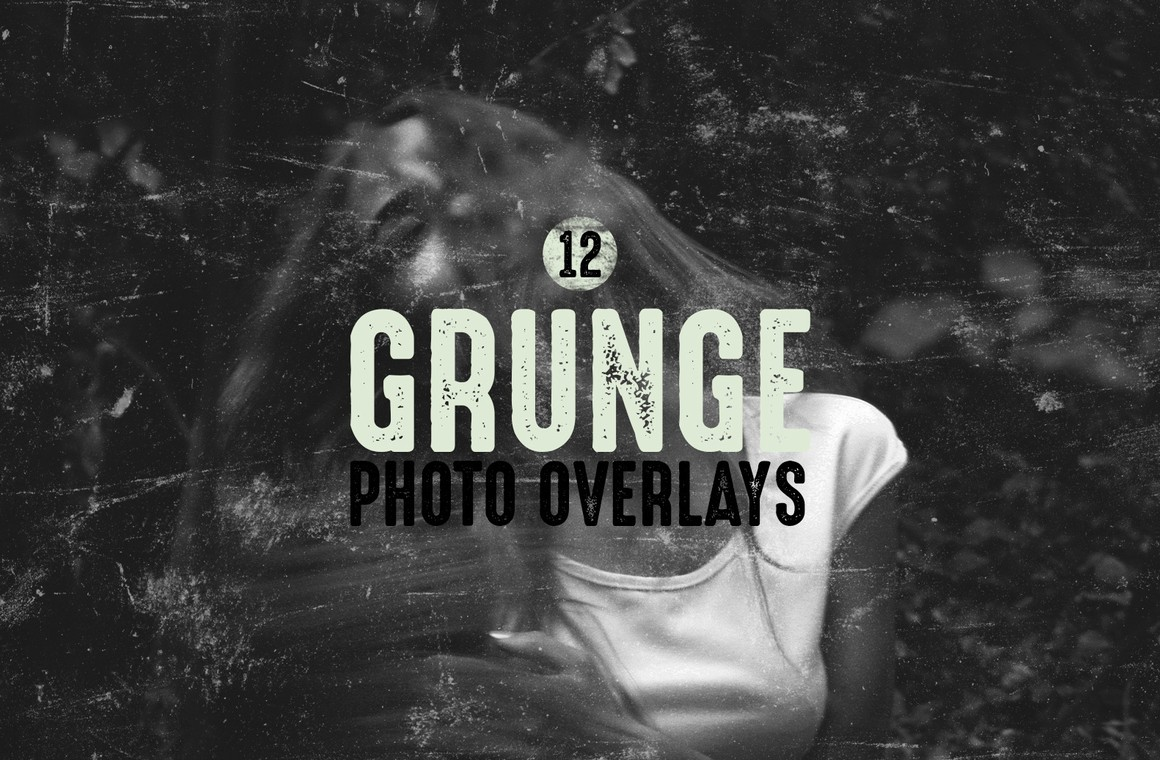 Grunge Photo Overlays