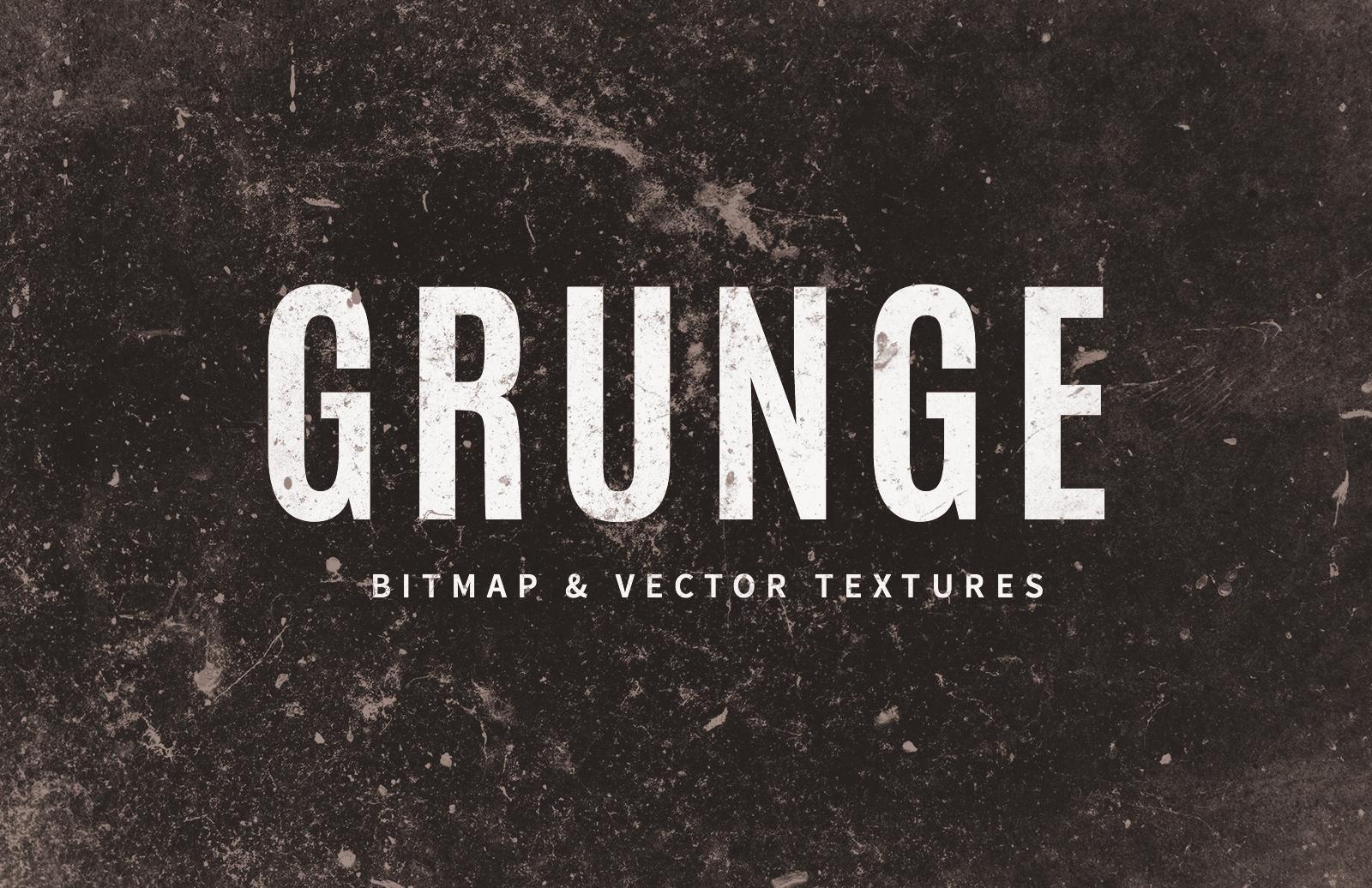 Grunge Textures Vectors Preview 1
