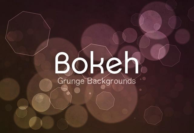 Grunge Bokeh Backgrounds