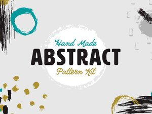 Hand Made Abstract Pattern Kit 1