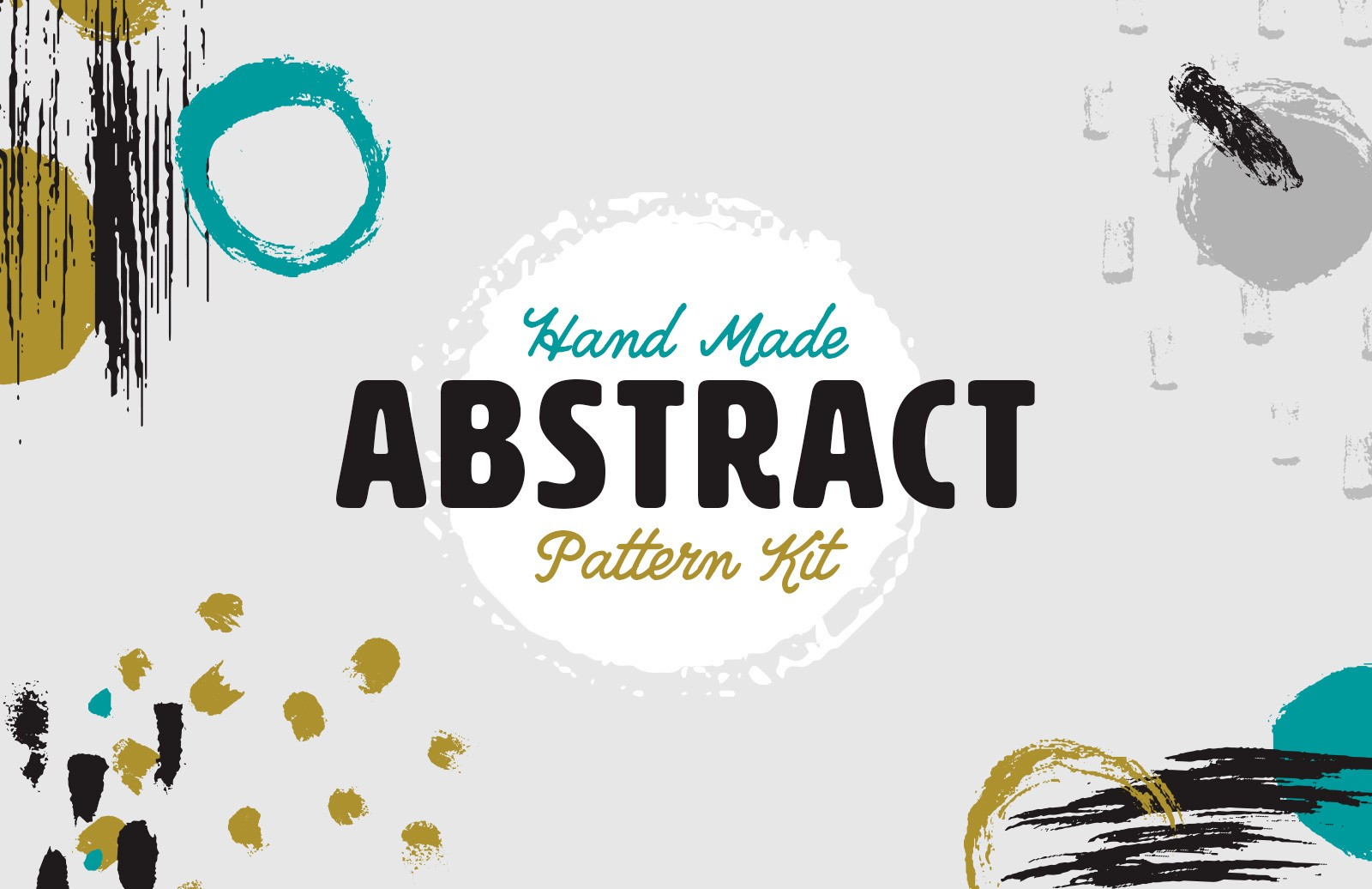 Hand Made Abstract Pattern Kit Preview 1