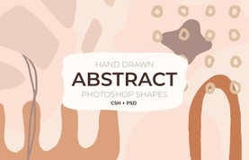 Hand Drawn Abstract Shapes for Photoshop