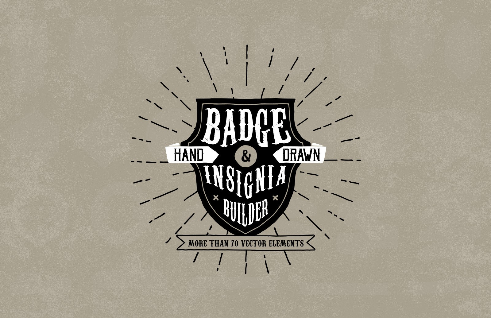 Hand Drawn Badge and Insignia Builder