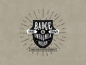 Hand Drawn Badge and Insignia Builder 1