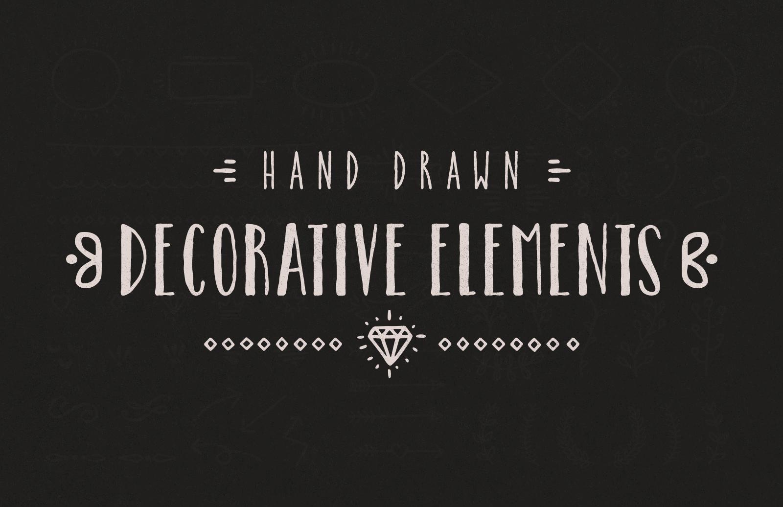 Hand Drawn Decorative Elements 1