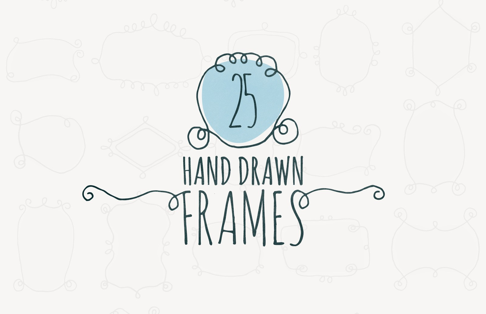 Hand Drawn Frames Preview 1