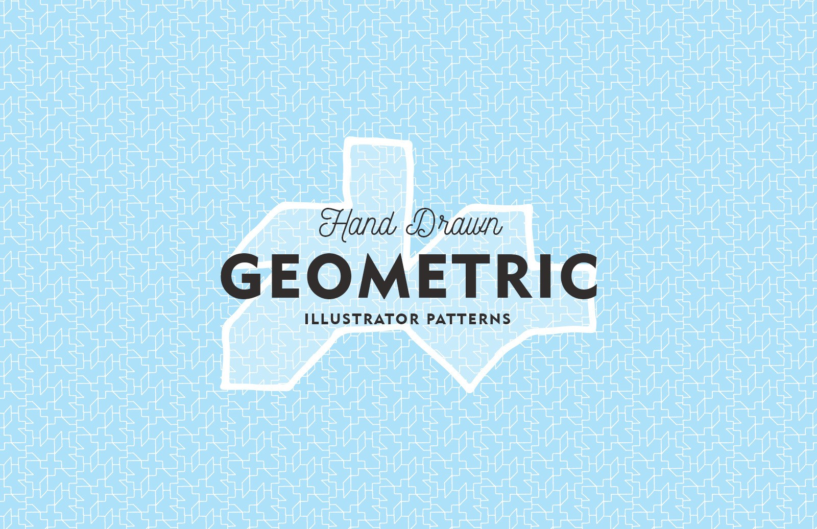 Hand Drawn Geometric Patterns Preview 1