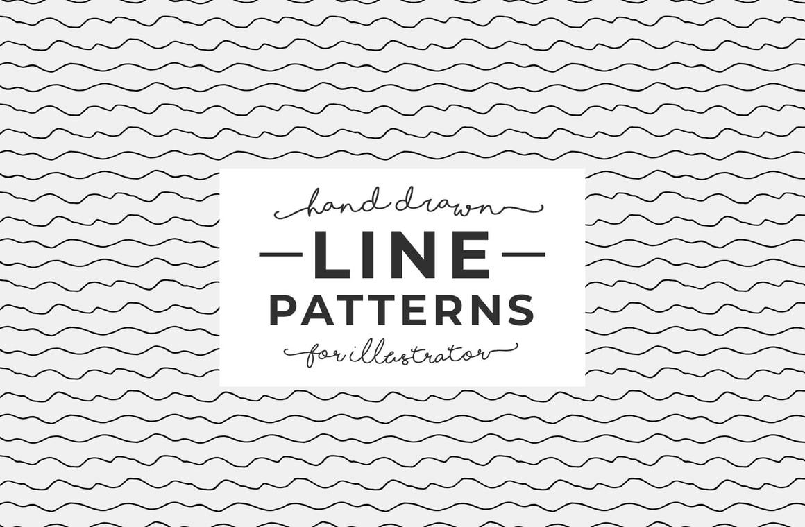Hand Drawn Line Patterns