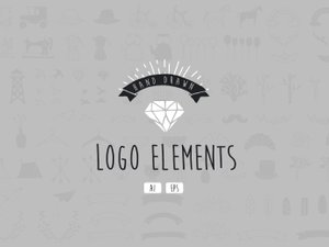 Hand Drawn Logo Elements 1