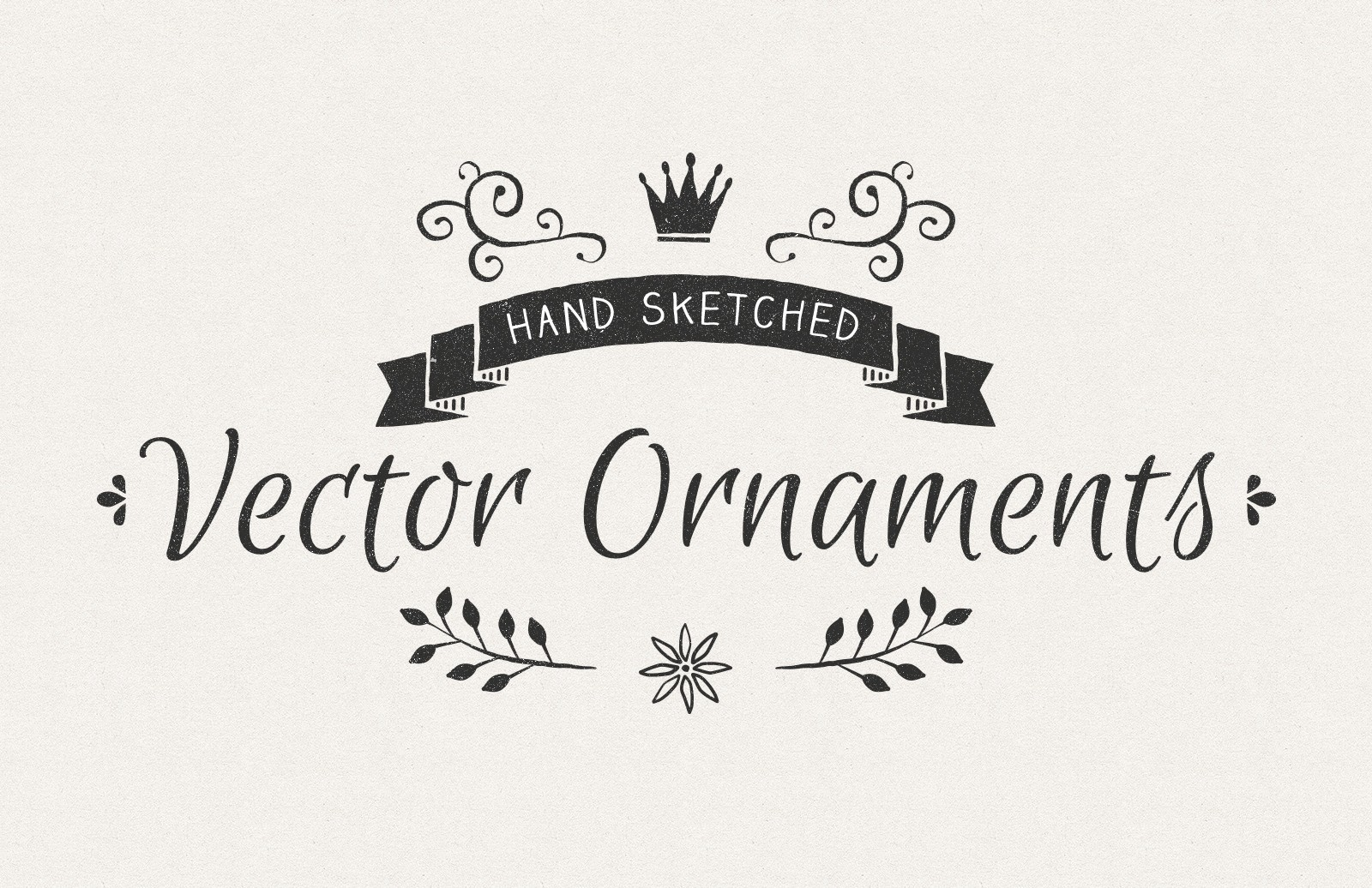 Hand  Sketched  Vector  Ornaments  Preview 1