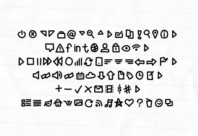 Handy Icons - Free Web Font