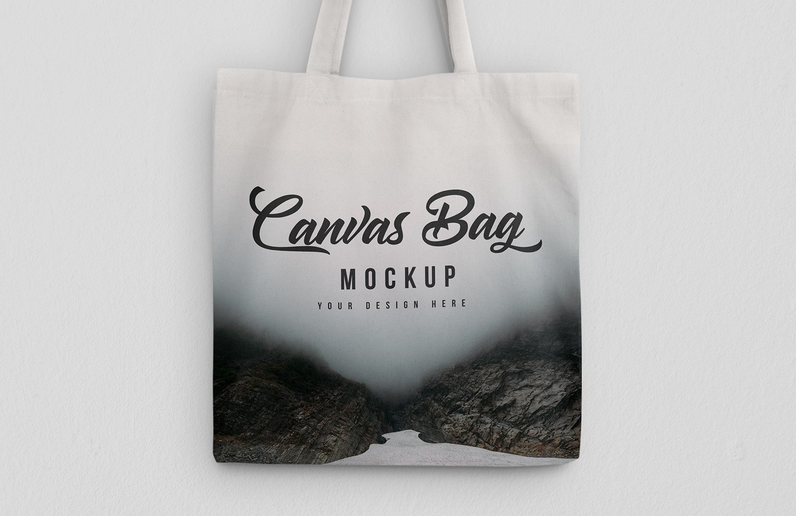 Hanging Canvas Bag Mockup Preview 1