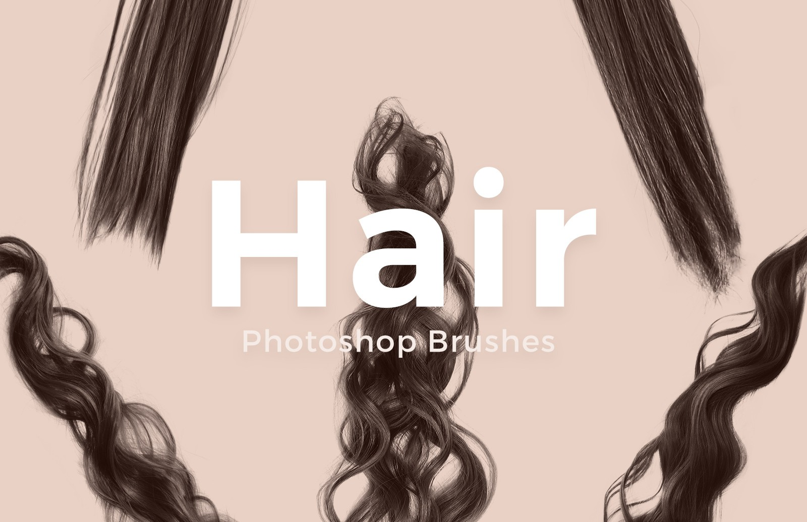 Free Photoshop Hair Brushes
