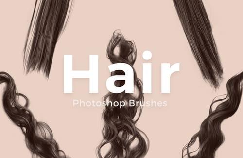 Free Photoshop Hair Brushes