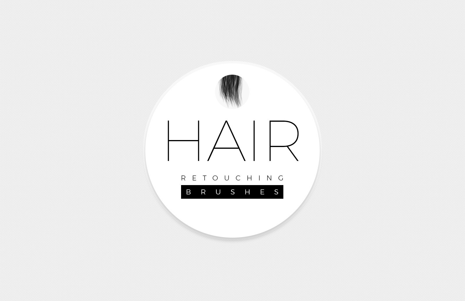 Hair Retouching Brushes Preview 1