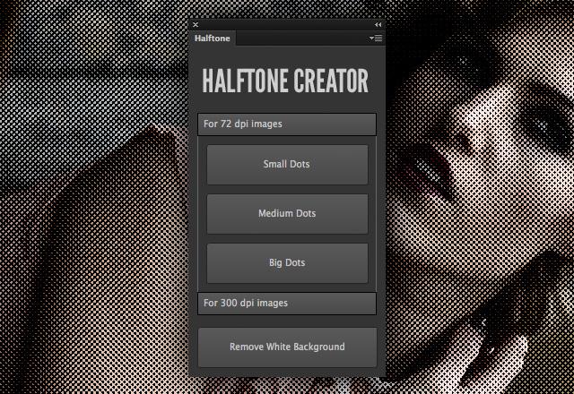 Halftone Creator Photoshop Plugin