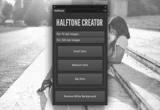 Halftone Creator Photoshop Plugin 2