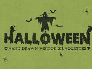 Halloween Vector Silhouettes 1
