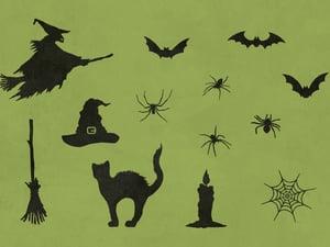 Halloween Vector Silhouettes 2