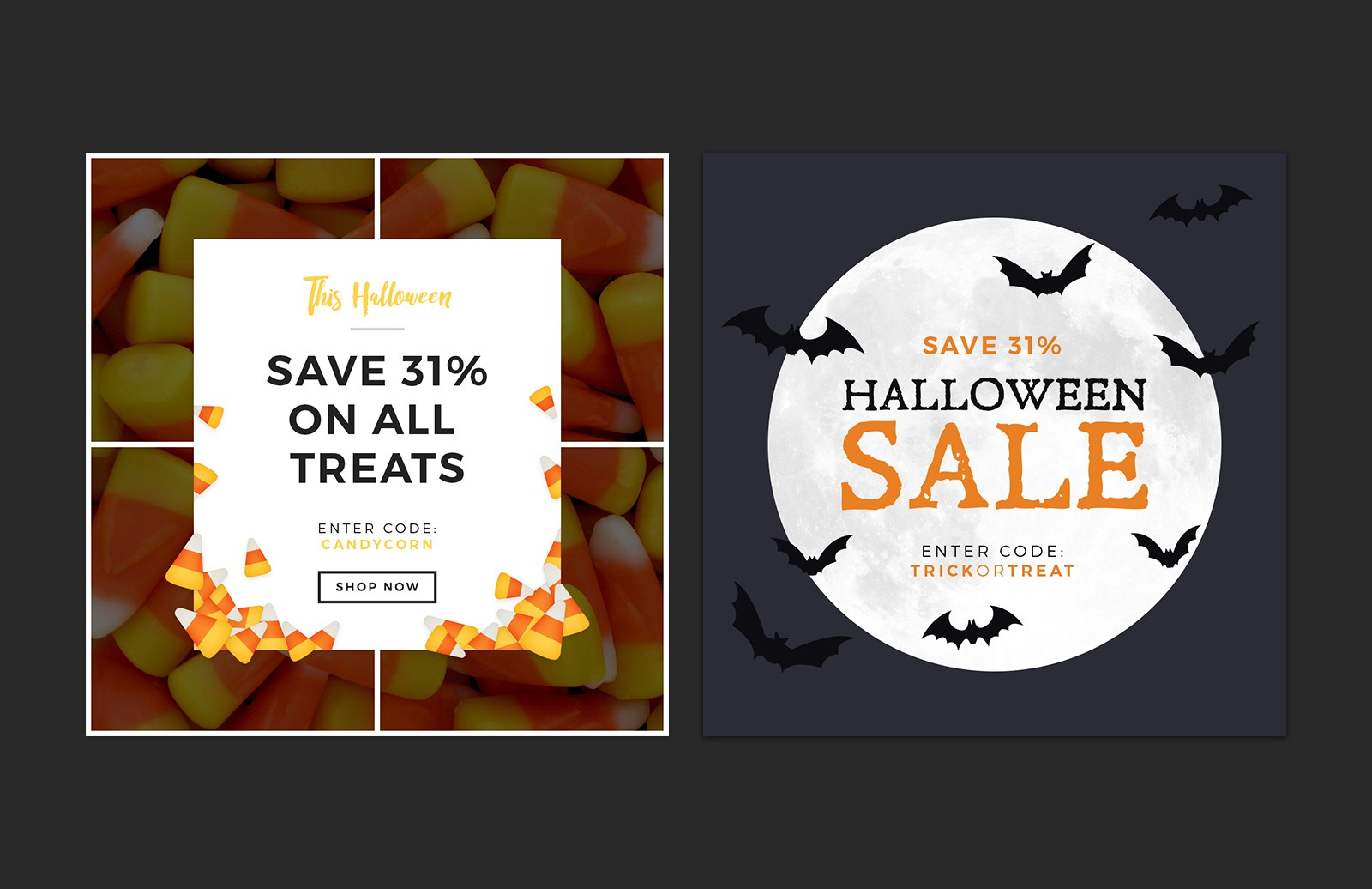 Halloween  Social  Media  Layouts  Preview 4