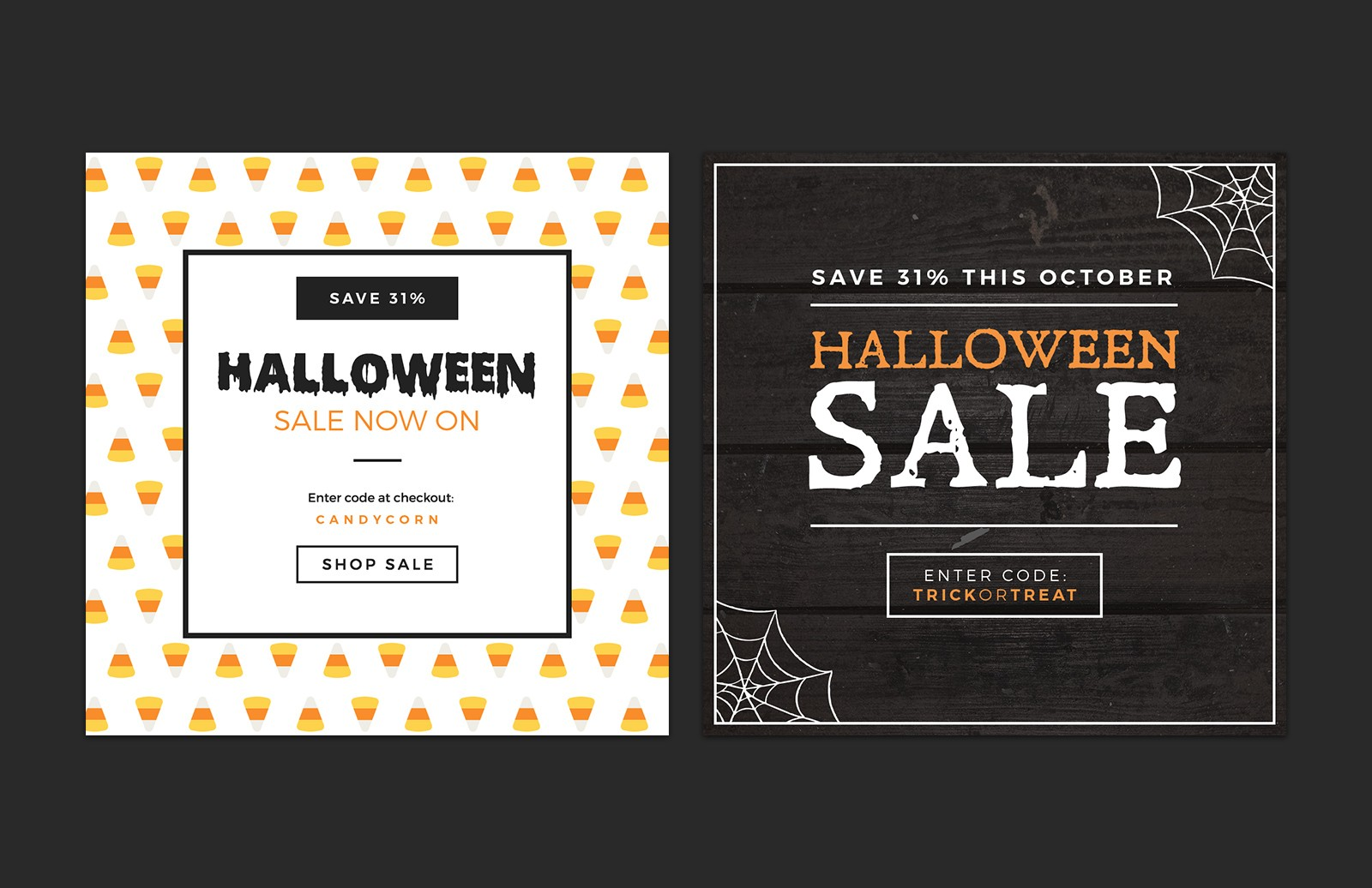Halloween  Social  Media  Layouts  Preview 2
