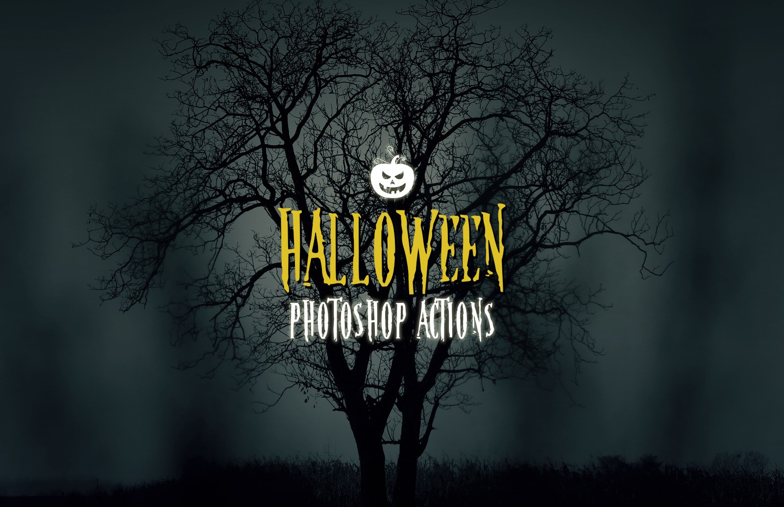 Halloween Spooky Photoshop Actions