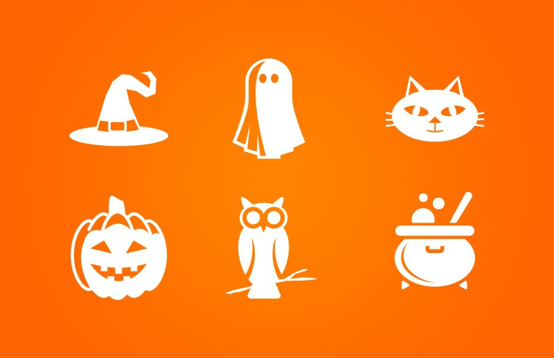 Halloween  Vector  Icons  Preview 1