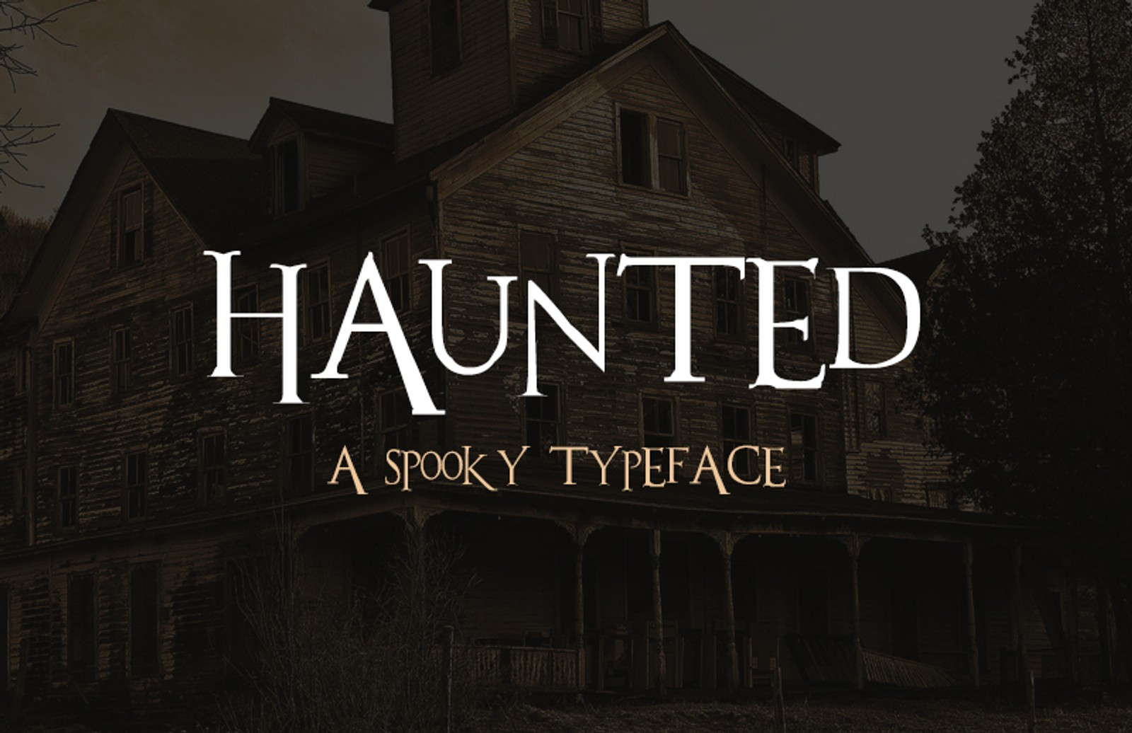 Haunted  Font  Preview 1
