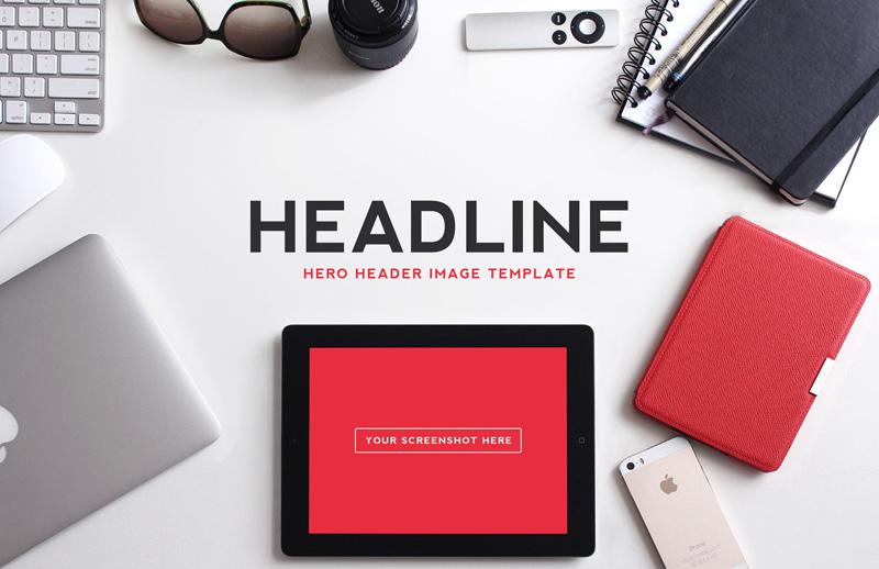 Hero  Header  Image  Templates  Vol 1  Preview 1