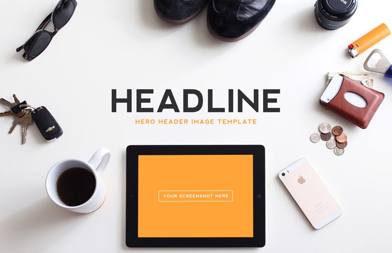 Hero  Header  Image  Templates  Vol 1  Preview 3