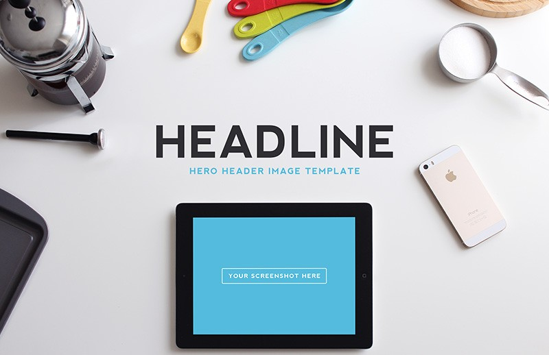 Large Hero  Header  Image  Templates  Vol 2  Preview 4