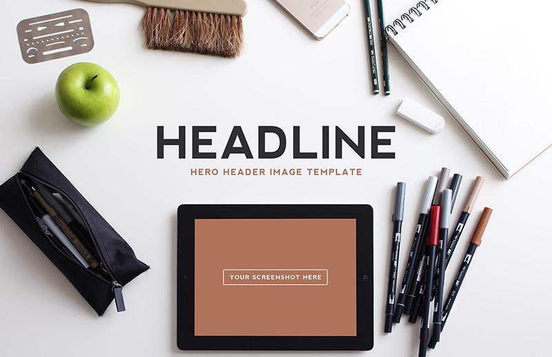 Hero  Header  Image  Templates  Vol 2  Preview 1