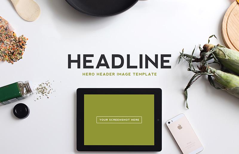 Hero  Header  Image  Templates  Vol 2  Preview 2