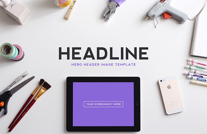 Large Hero  Header  Image  Templates  Vol 2  Preview 3