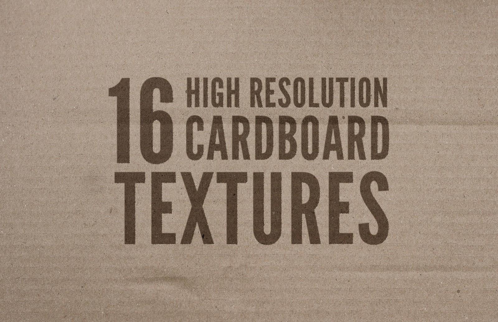 High Resolution Cardboard Textures Preview 1