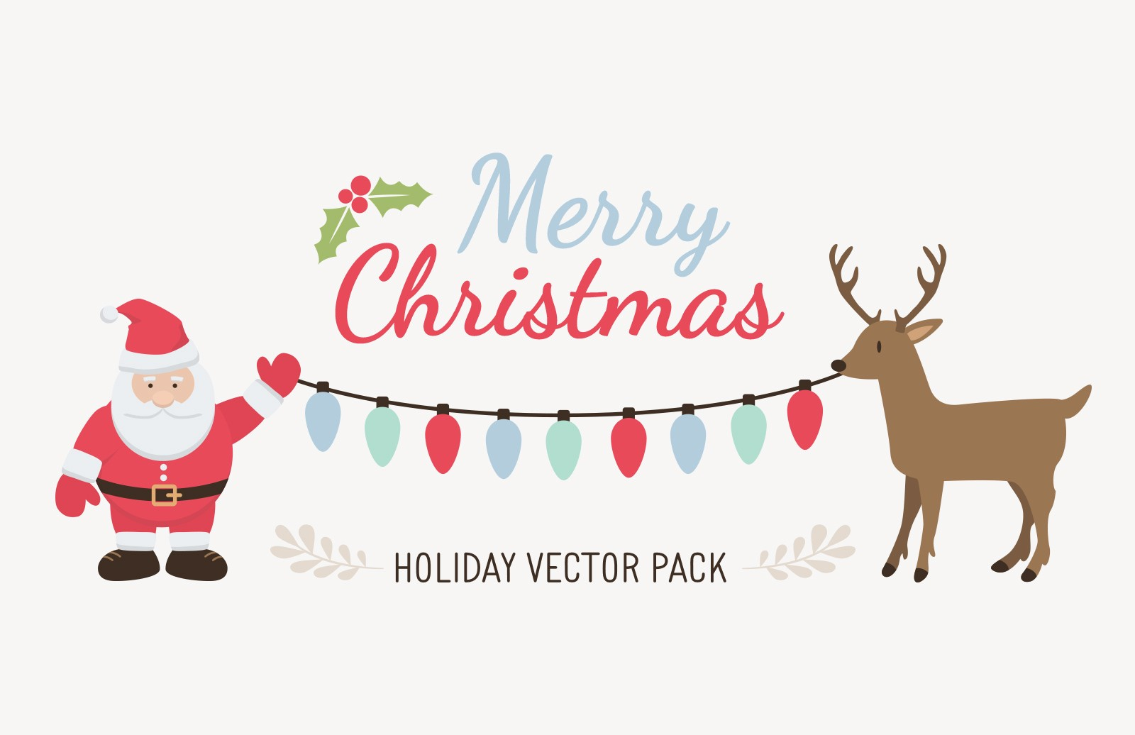 Holiday Vector Pack