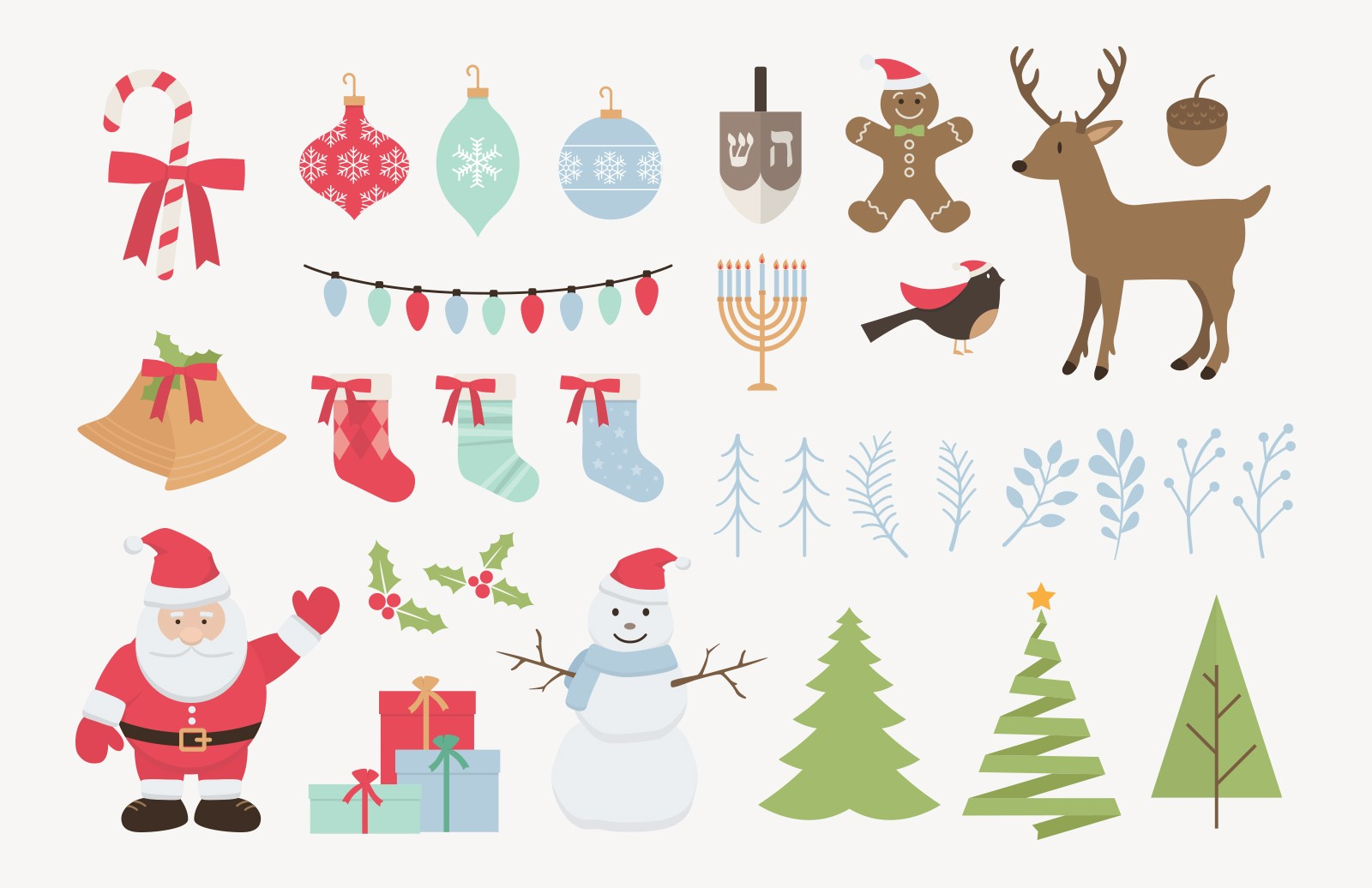 Holiday Vector Pack 2