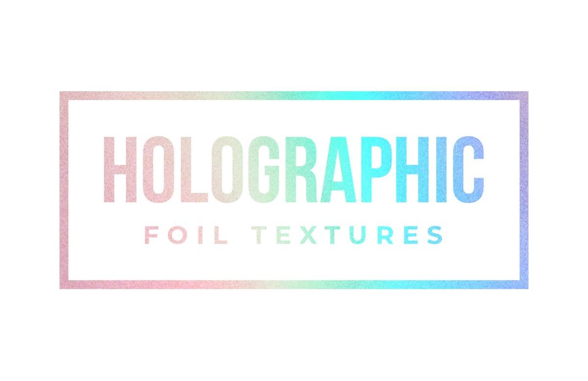 Holographic Foil Textures Preview 1