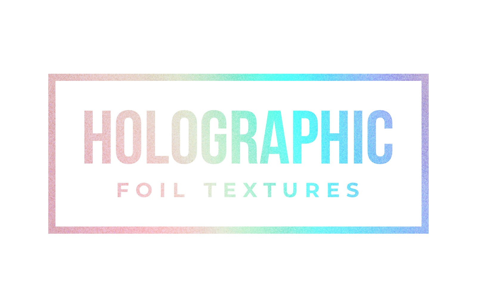Holographic Foil Textures Preview 1