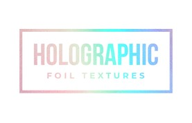 Free Holographic Foil Textures