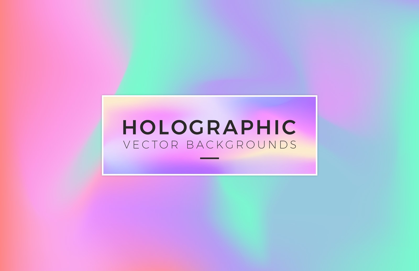 Holographic Vector Backgrounds