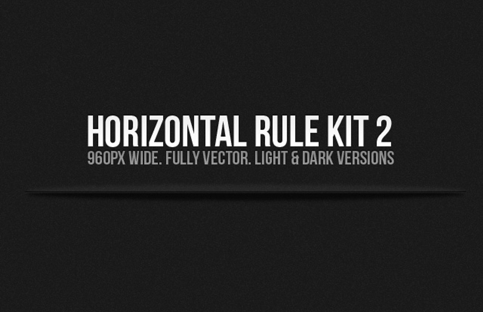 Horizontal  Rule  Kit 2  Preview1