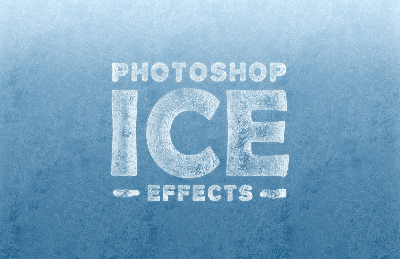 Ice Effects For Photoshop Text Shapes Preview 1