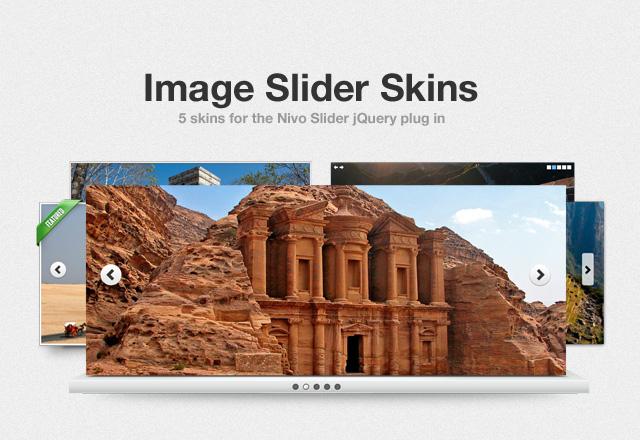 5 jQuery Image Slider Skins