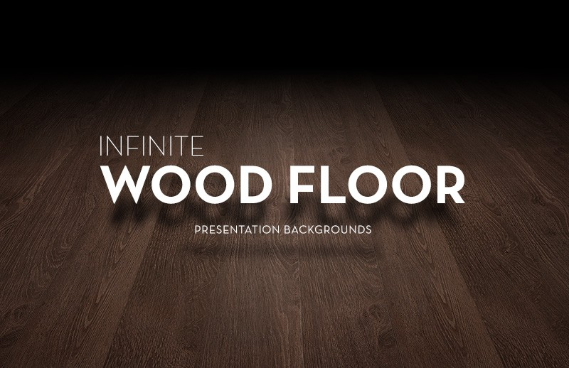 Infinite Wood Floor Presentation Backgrounds