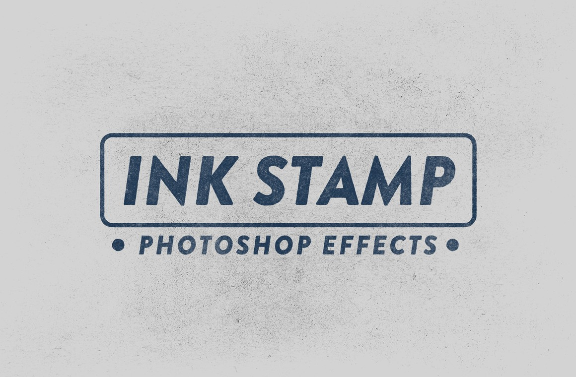 Ink Stamp Effects