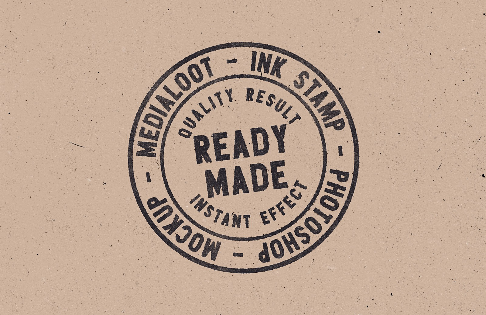 Ink Stamp Photoshop Mockup Medialoot