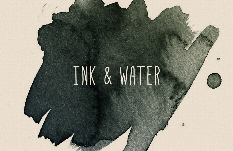 Ink and Water - Photoshop Brushes
